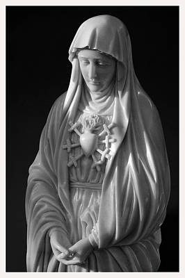 Berthe Photograph - Our Lady Of Sorrows by Mark Goebel