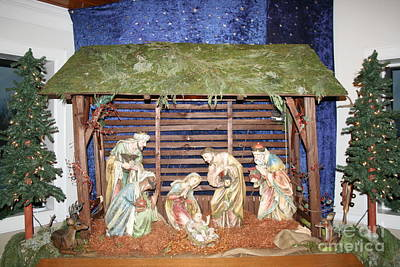 Christmas Photograph - Our Lady Of The Mountain Catholic Church At Christmas - 01 by Sherrie Winstead