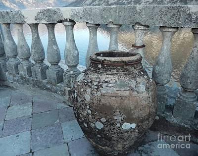 Pottery Sinks Photograph - Our Lady Of The Rocks by Ann Johndro-Collins