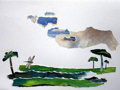 The Trees Mixed Media - Our Land by Jolly Van der Velden