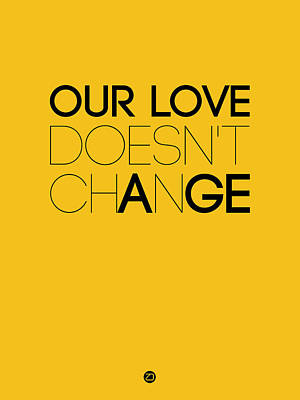 Our Life Doesn't Change Poster 3 Art Print