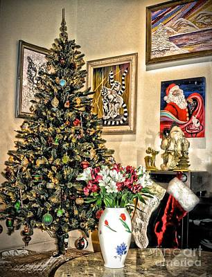 Photograph - Our Little Christmas Corner by Phyllis Kaltenbach