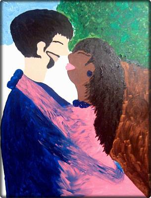 Painting - Our Love by Clarissa Burton