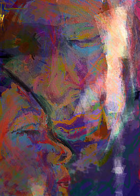 Light Touch Digital Art - Our Moment  by James Thomas