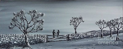 Painting - Our Moment by Kenneth Clarke
