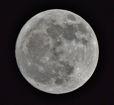 Photograph - Our Moon by Thomas  MacPherson Jr