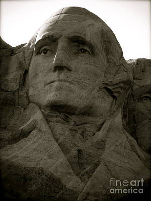 Photograph - Our Nation's Patriarch by KD Johnson