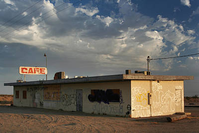 Abandoned Buildings Photograph - Our Old Cafe by Laurie Search
