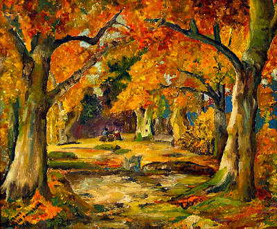 Painting - Our Place In The Woods by Mary Ellen Anderson