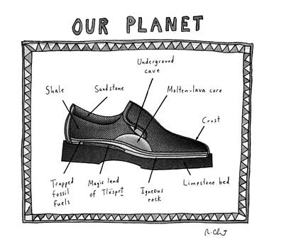 Planet Drawing - Our Planet by Roz Chast