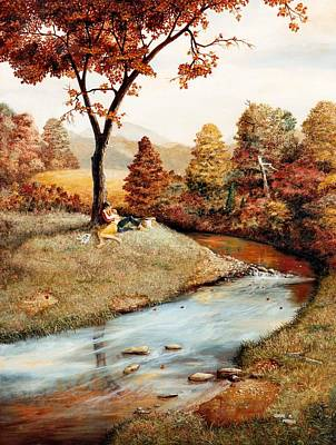 Painting - Our Secret Place by Duane R Probus