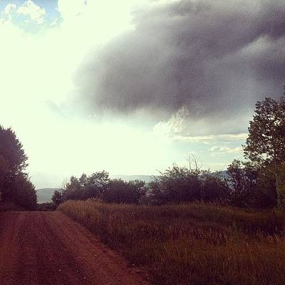 Mtb Photograph - Our #stormy Little #cycle We Seem To Be by Andrew Wilz