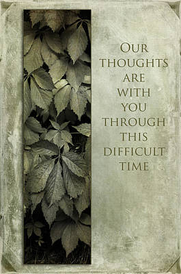 Photograph - Our Thoughts by Randi Grace Nilsberg