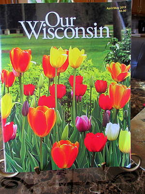Photograph - Our Wisconsin Magazine by Kay Novy