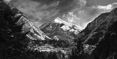 Colorado Ski Art Wall Art - Photograph - Ouray Colorado by Brett Pfister