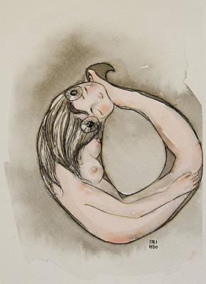 Ouroboros Art Print by Itzi Hdo