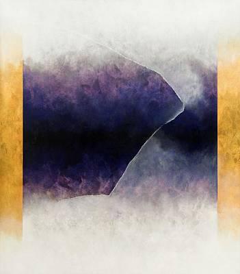 Ouroboros Three Blue, 2010 Art Print
