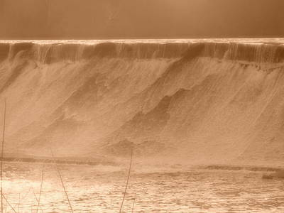 Photograph - Ousatonic Dam by Anastasia Konn