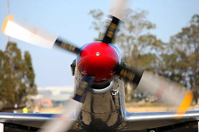 Photograph - Out For A Spin.  P51d Musting Merlin's Magic N151se by John King
