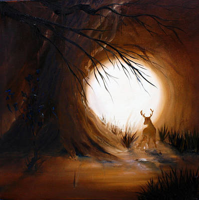 Painting - Out For The Hunt by David Kacey