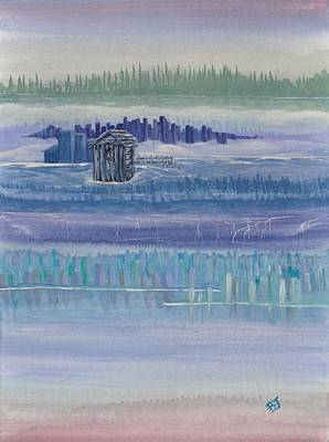 Painting - Out House In Nowhere by Barbara St Jean