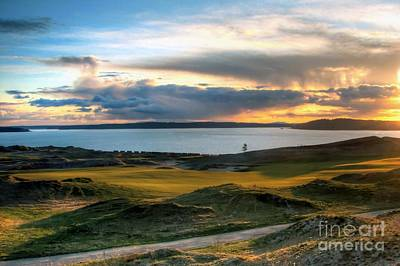 Photograph - Out Like A Lamb - Chambers Bay Golf Course by Chris Anderson