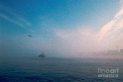Photograph - Out Morning At Sea  by Evgeniy Lankin