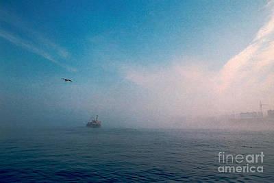 Out Morning At Sea  Art Print