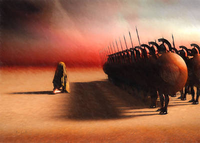 Arabs Painting - Out Of Egypt by Bob Orsillo