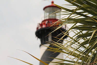 Photograph - Out Of Focus Lighthouse by Jessica Brown
