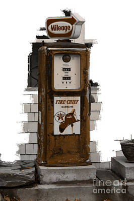 Photograph - Out Of Gas by David Birchall