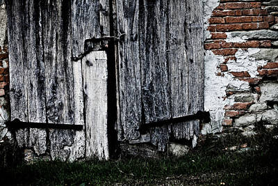 Old Wood Photograph - Out Of Order by Michael  Bjerg