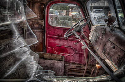 Out Of Service Art Print by Michael Gass