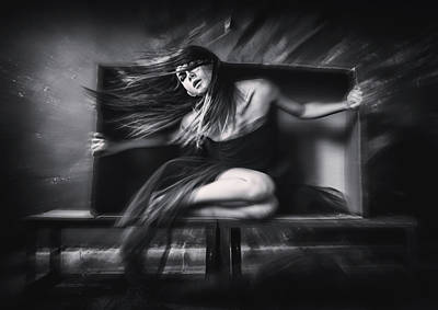 Cardboard Photograph - Out Of The Box by Rengga Marantica