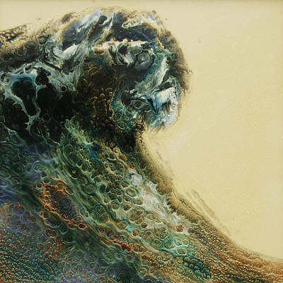 Painting - Out Of The Depths Sold by Lia Melia