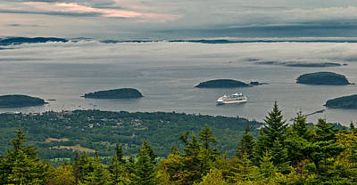 Photograph - Out Of The Fog Into Port by Paul Mangold