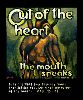 Out Of The Heart Art Print by Patricia Howitt