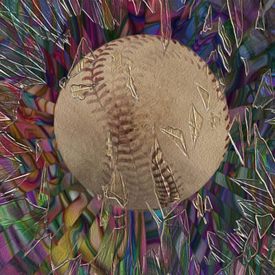 Baseball Cap Painting - Out Of The Park by Jack Zulli
