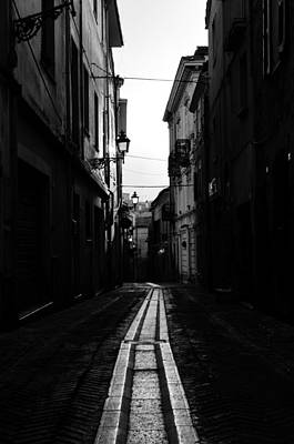 Streetlight Photograph - Out Of The Shadows by Andrea Mazzocchetti