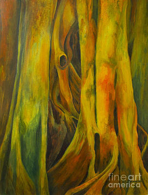 Out Of The Woods Painting - Sylphe by Olga Zamora