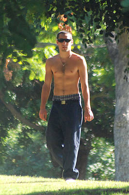 Shirtless Photograph - Out Of The Woods by Evan Butterfield