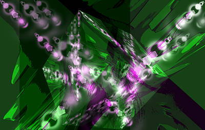Light Touch Digital Art - Out Of Touch 1 by Angelina Vick