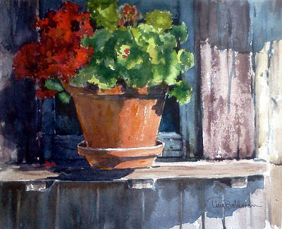 Painting - Out On A Ledge by Tina Bohlman