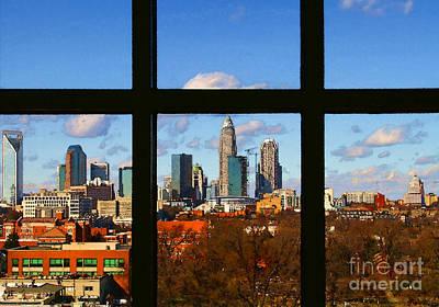 Photograph - Out The Hospital Window By Diana Sainz by Diana Raquel Sainz