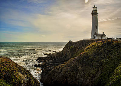 Lighthouse Photograph - Out There by Heather Applegate