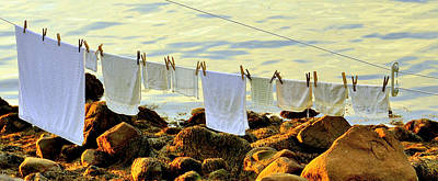Photograph - Out To Dry by Caroline Stella