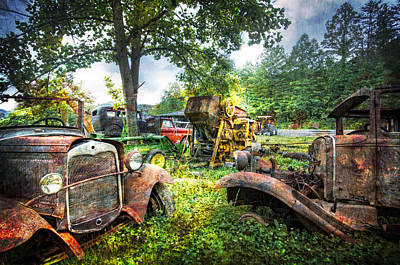 Out To Pasture Friends Art Print