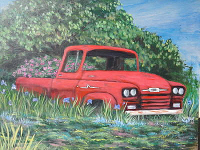Out To Pasture Art Print by Tammy Mays