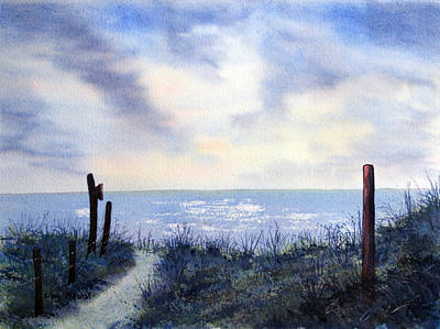 Painting - Out To Sea Again by Glenn Marshall
