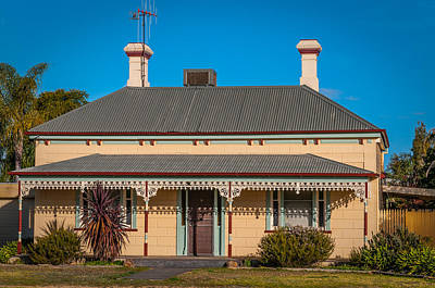 Houses Photograph - Outback Cottage by Paul Donohoe